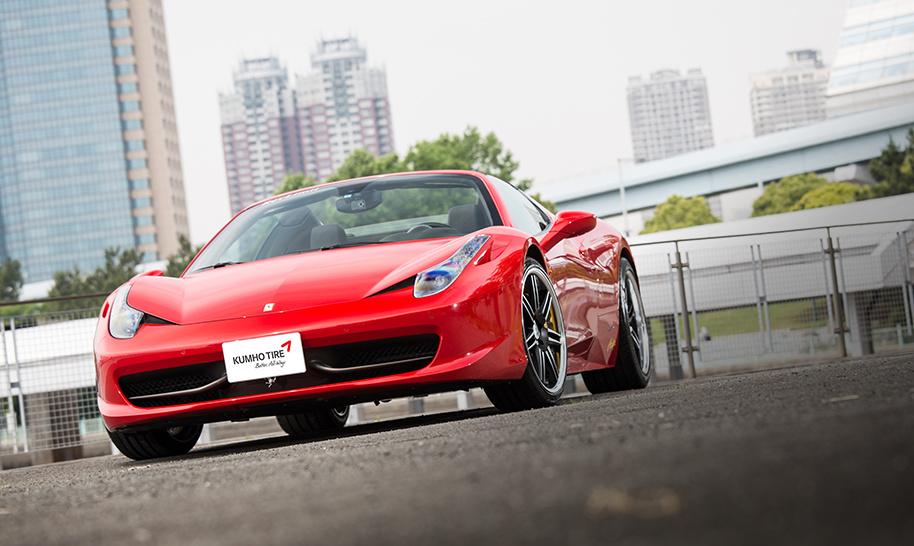 CarMe[カーミー]|クムホタイヤ/ECSTA PS91 Ferrari 458 Spider Img01