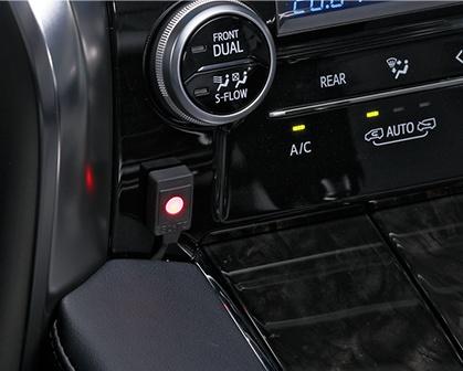 CarMe[カーミー]|BLITZ/TVジャンパーシリーズ | スイッチアダプターで使いやすい場所に装着