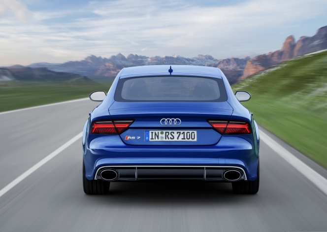 アウディRS7 SportBack performance