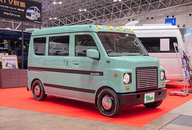 【ジャパンキャンピングカーショー2019】軽キャン