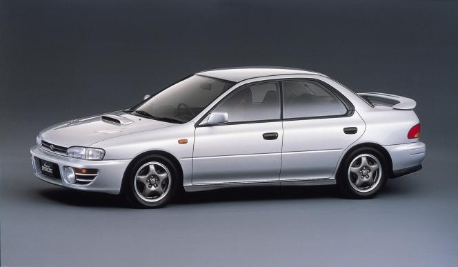 スバル インプレッサ WRX 1992