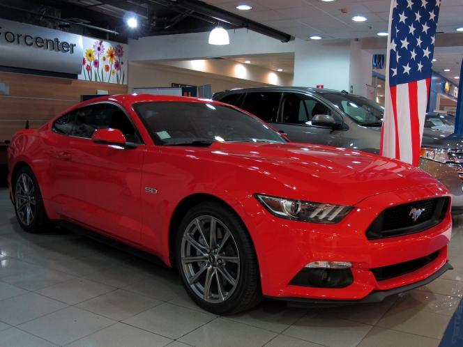 フォード・マスタングGT(2015)