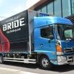 BRIDEからトラック専用シートが発売!長距離トラックドライバーの疲労軽減にはこれだ!
