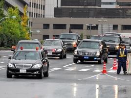 正に大名行列!オバマ大統領の車列が引くほど長い理由とは??