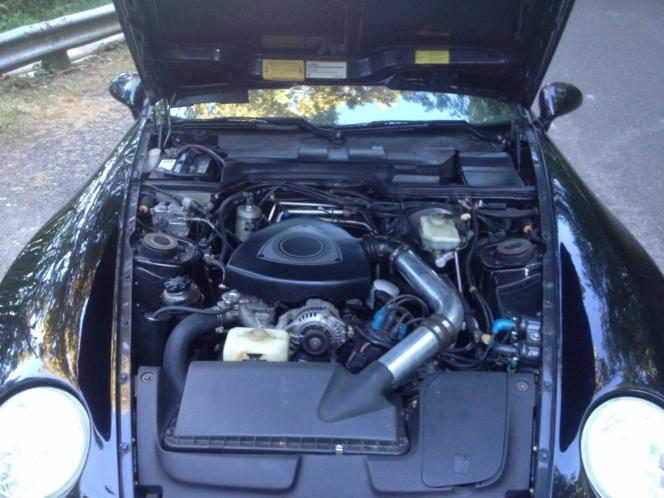 ロータリーエンジン搭載 ポルシェ968