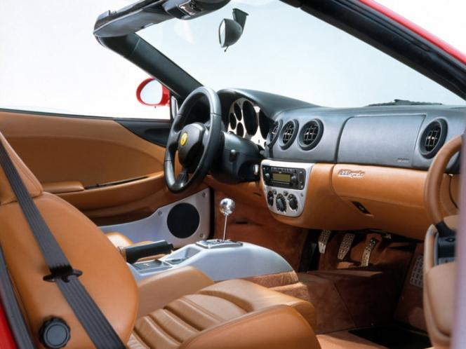 Ferrari 360 Spider (2000) インテリア