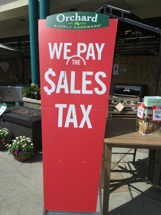 "Absurd: ""We Pay the $ales Tax"