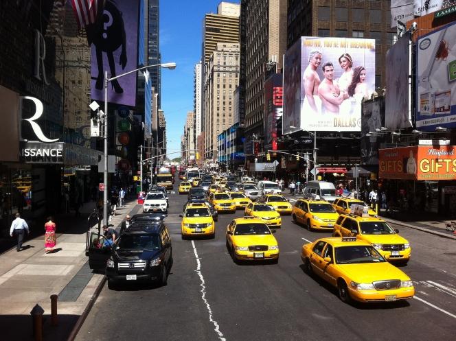 ニューヨーク タクシー