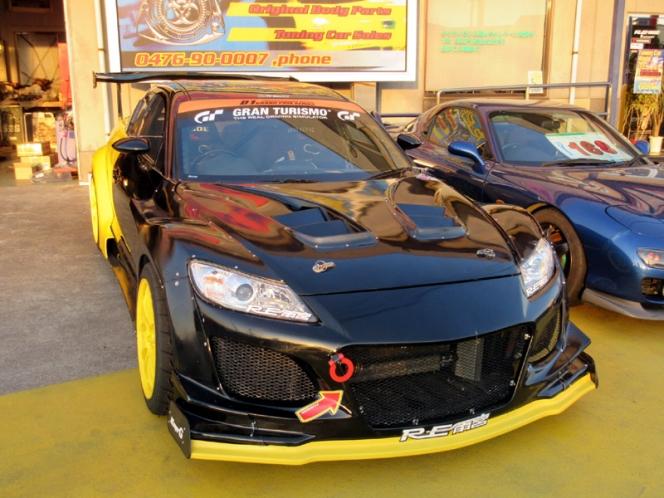 RE雨宮のRX-8デモカー