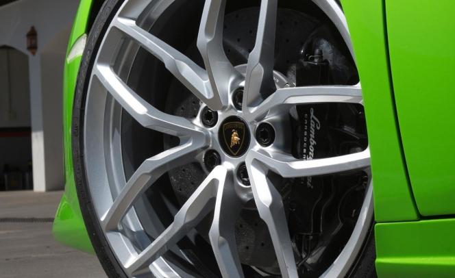 2015 Lamborghini Huracán LP610-4 wheel