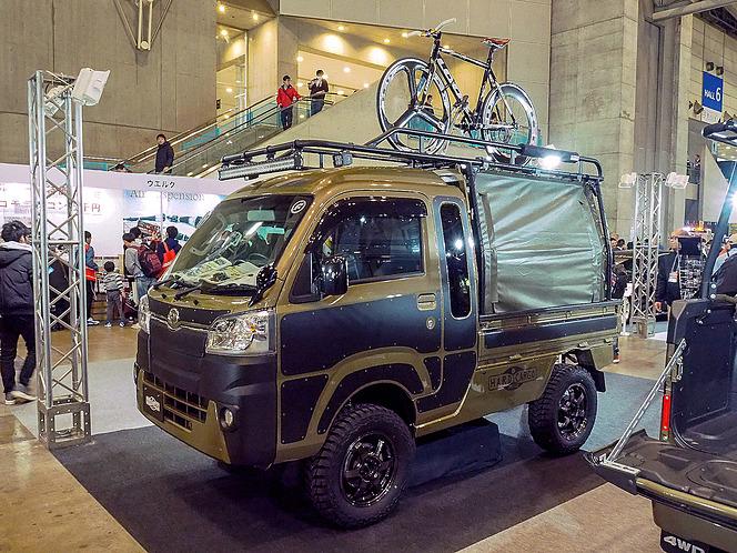 【東京オートサロン2019】トラック