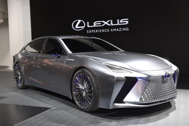 【東京モーターショー2017】レクサス LS+ Concept