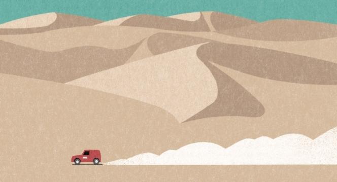 ahead illust