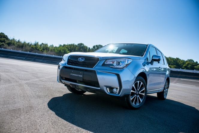 2015 Subaru Forester 2.0XT EyeSight