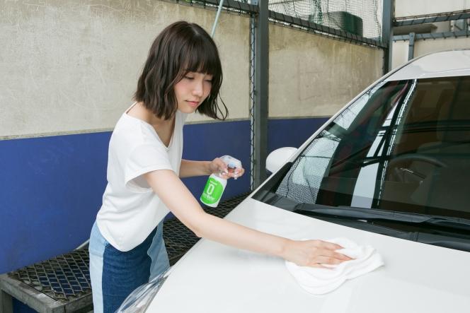 シュアラスター様(お出かけのための洗車)