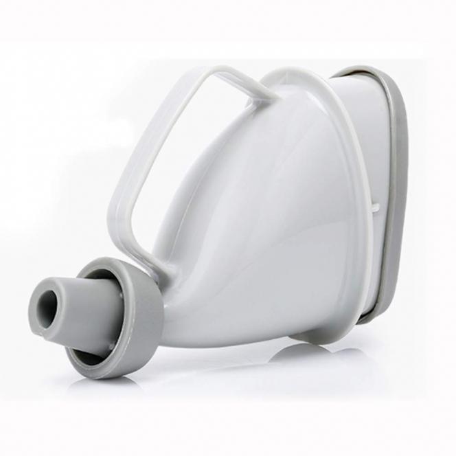 SUGGEST 車中用 携帯トイレ 男女兼用 /渋滞 アウトドア 介護 災害 断水 ペットボトル 水洗い可能