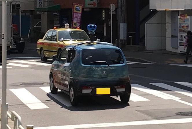 グーグルストリートビュー撮影車