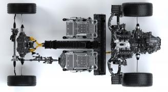 第2世代アキュラNSXパワートレイン