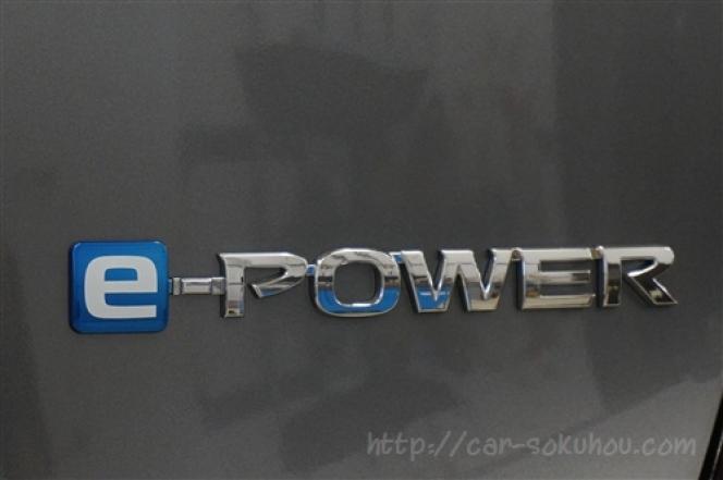 日産 ノート e-power 2016