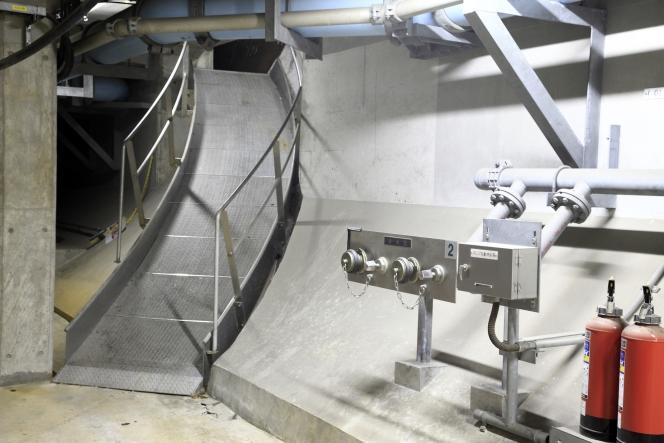 アクアトンネル 滑り台