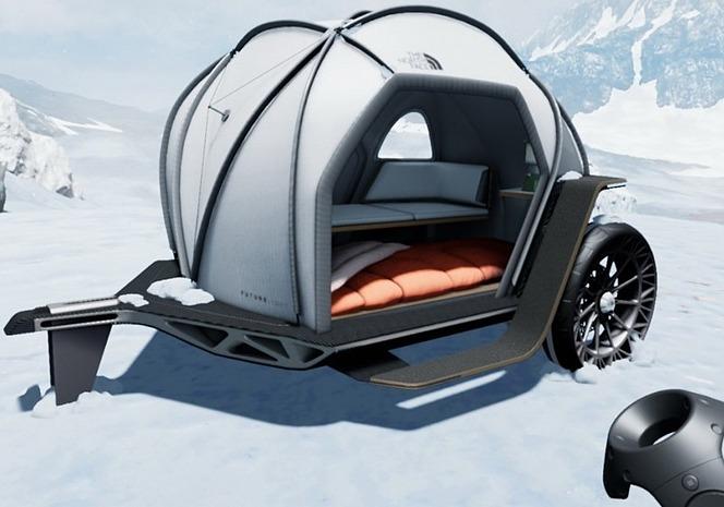 ランタン BMW×The North Face