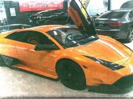 GACKTさんの愛車、ランボルギーニ ムルシエラゴが破損…カーボンボディのメリットは?