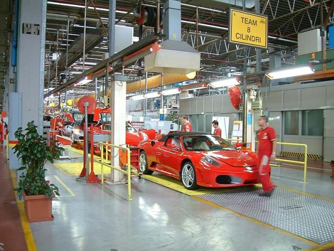 フェラーリ工場
