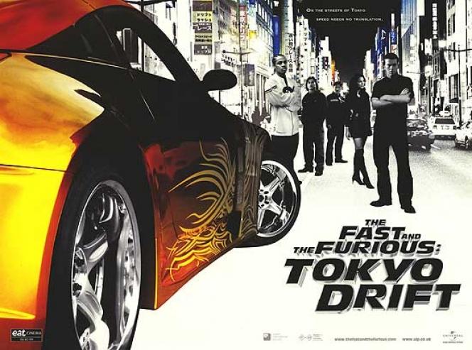 ワイルド・スピード×3 TOKYO DRIFT(2006年/原題:The Fast and the Furious:To