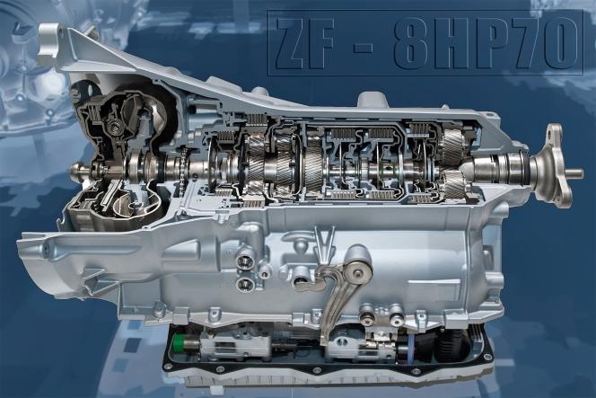 BMWに採用されたZF製8AT