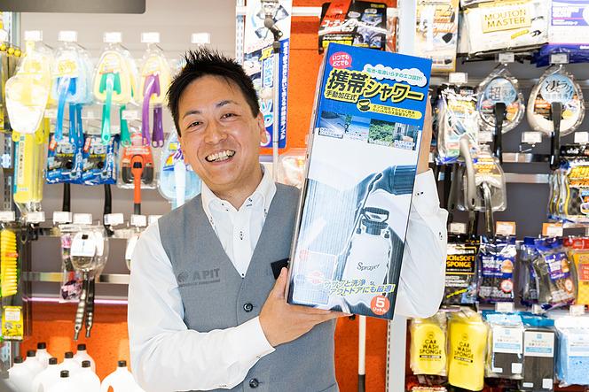 【店員さん劇選シリーズ!】店員さんオススメの洗車グッズはコレだ!PART3 栗原祥光