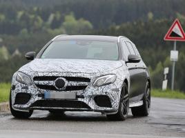 メルセデス、AMG E63ワゴン次世代モデルの姿をキャッチ!デザイン、性能はどうなの?