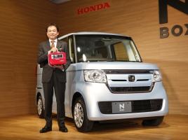 200万円の新型N-BOXが売れてます!ホンダ、軽イメージを定着か?
