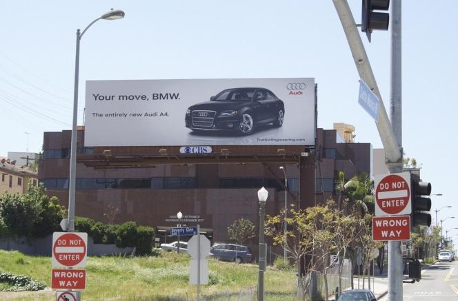 アウディ「君のターンだよ、BMW」