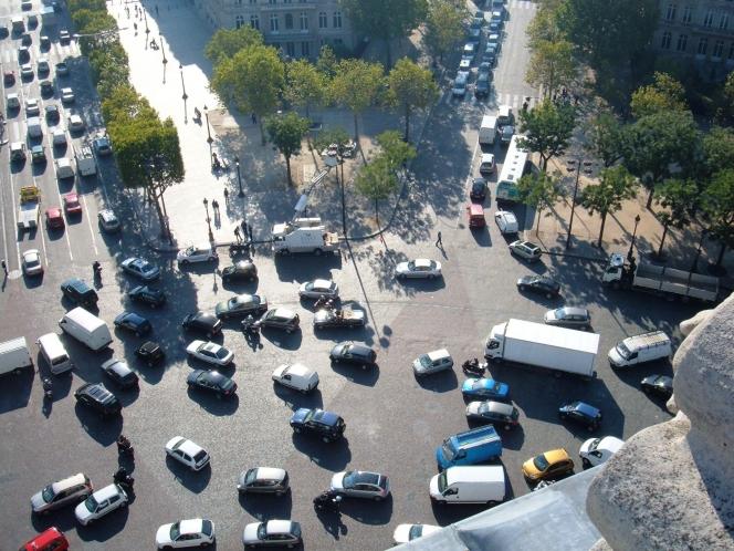 交通渋滞 ラウンドアバウト
