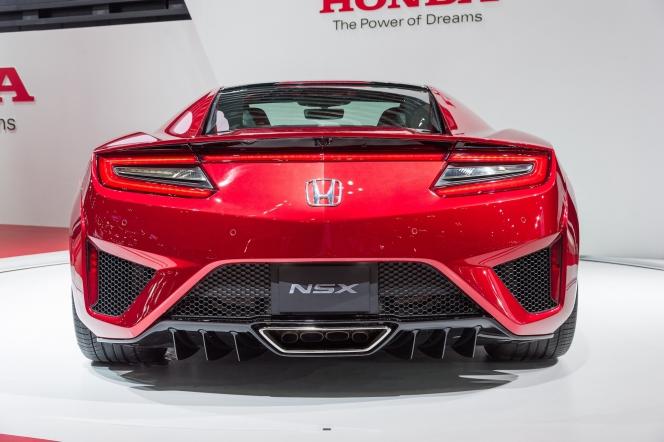 ホンダ NSX 2015