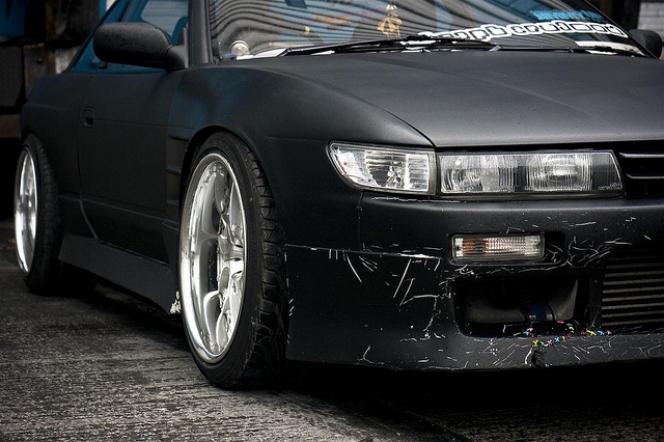 Matt Black car