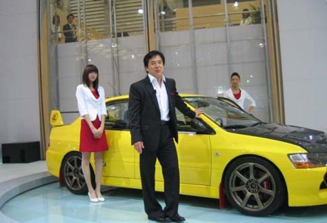 ジャッキー・チェン/2007年上海モーターショー
