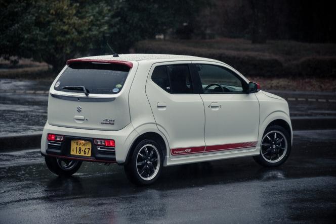 2015 Suzuki Alto Turbo RS