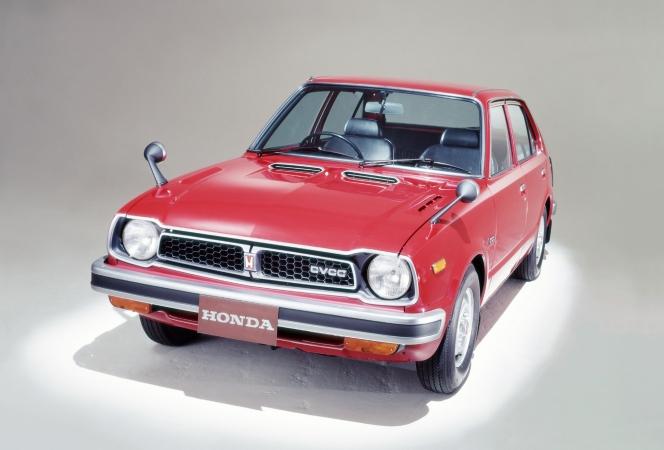 ホンダ シビック CVCC 1975