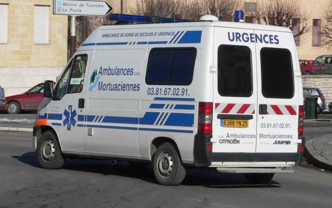 フランスの救急車