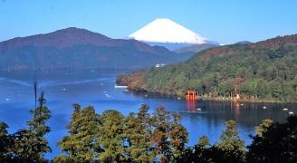 箱根、芦ノ湖