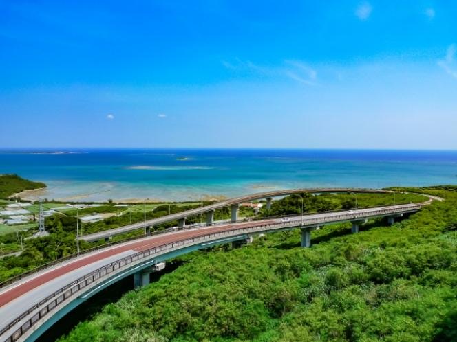 ニライカナイ橋 沖縄