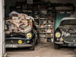 19億円のフェラーリなど希少車60台がフランスの小さな村で発見!?