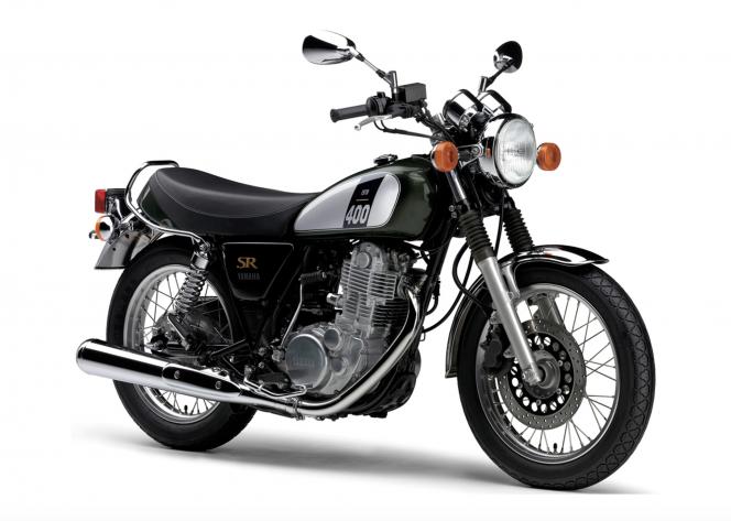 アヘッド Yamaha SR400