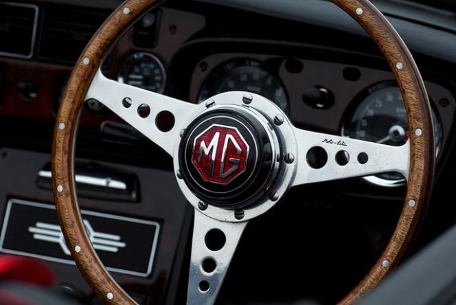MGB Steering Wheel