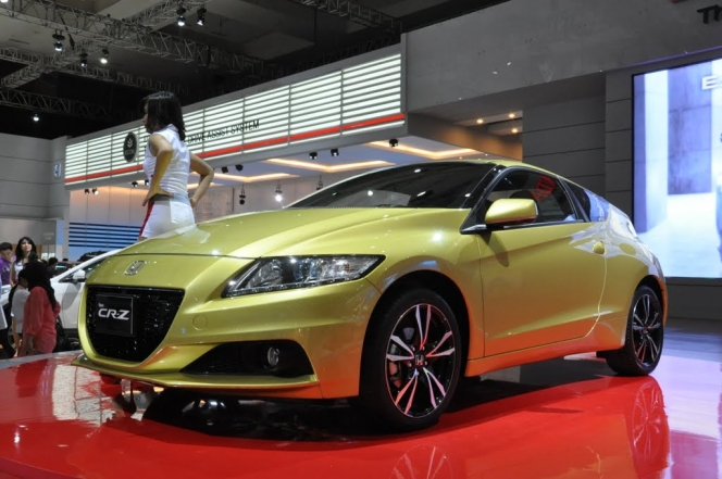 2013 Honda CR-Z (2012 Jakarta Motor Show)