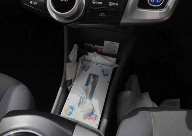 車内 ゴミ