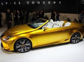 レクサスから輝くオープンカーが発表!このデザイン、アリorナシ?