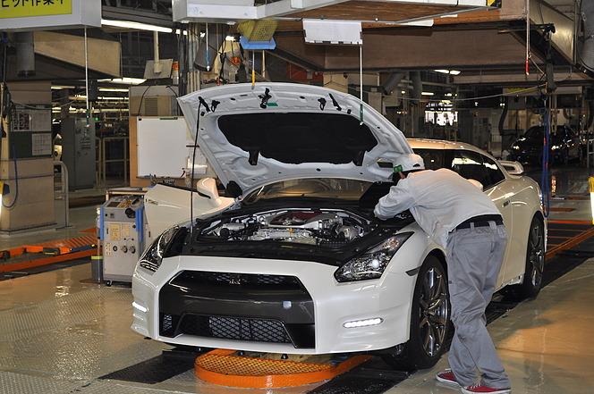 日産 GT-R 栃木工場 2015