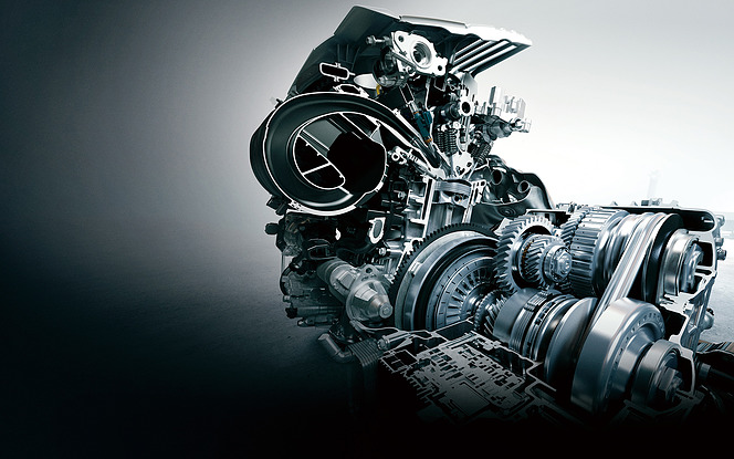 直列4気筒2.0L直噴エンジン Direct Shift-CVT